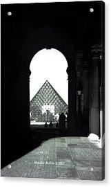 The Louve 1 Acrylic Print by Christine McCole