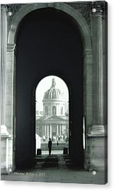 The Louve 2 Acrylic Print by Christine McCole