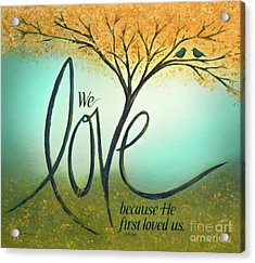 The Love Tree Acrylic Print