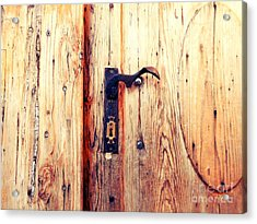 The Lovely Door Handle Acrylic Print