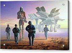 The Loyalists Acrylic Print by Anthony Mwangi
