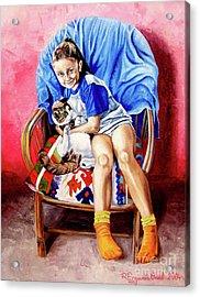 The Loyalty - La Fidelidad Acrylic Print