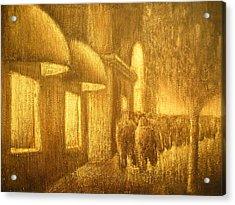 The Lumber Exchange Acrylic Print by Jaylynn Johnson
