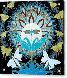 The Luna Moth Journey Of Faith And Love Acrylic Print