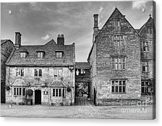 The Lygon Arms Broadway Worcestershire Uk Acrylic Print by John Edwards