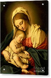 The Madonna And Child Acrylic Print
