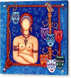 The Madwoman Acrylic Print