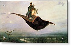 The Magic Carpet Acrylic Print by MotionAge Designs