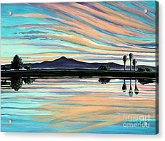 The Magic Is In The Water Acrylic Print