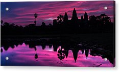 The Magic Of Angkor Wat Acrylic Print
