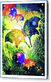 The Magic Of Butterflies Acrylic Print