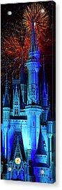 The Magic Of Disney Acrylic Print by Mark Andrew Thomas