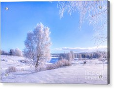 The Magic Of Winter 3 Acrylic Print