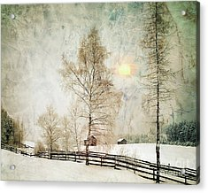 The Magic Of Winter Acrylic Print