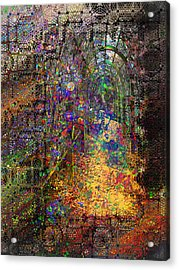 The Magic Tunnel Acrylic Print by Mimulux patricia no No