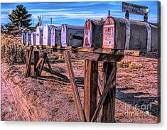 The Mailboxes Acrylic Print
