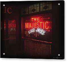 The Majestic Acrylic Print by Tim Nyberg