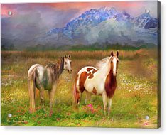 The Majestic Pasture Acrylic Print