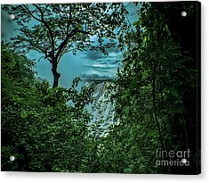 Acrylic Print featuring the photograph The Majestic Victoria Falls by Karen Lewis