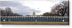 The Mall Washington Dc Acrylic Print by Wayne Higgs