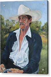 The Man From The Valley Acrylic Print