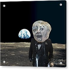 The Man In The Moon Acrylic Print