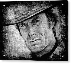 The Man With No Name Acrylic Print