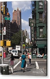 The Manhattan Sophisticate Acrylic Print