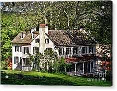 The Mansion At Hopewell Furnace Acrylic Print by Olivier Le Queinec