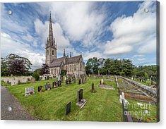The Marble Church Acrylic Print by Adrian Evans