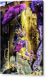 The Mardi Gras Jester Acrylic Print