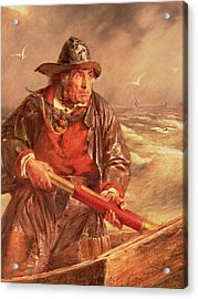 The Mariner Acrylic Print by Erskine Nicol