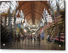 Acrylic Print featuring the photograph The Market Hall by Alex Lapidus