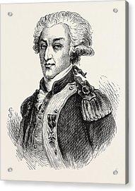 The Marquis De Lafayette Acrylic Print