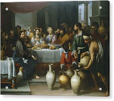 The Marriage Feast At Cana Acrylic Print