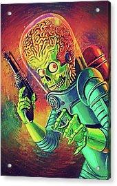 The Martian - Mars Attacks Acrylic Print