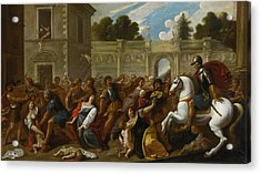 The Massacre Of The Innocents Acrylic Print