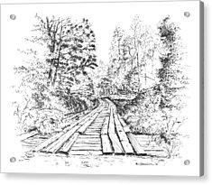 The Mcneely Bridge Acrylic Print