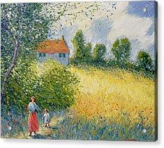 The Meadow Path  Acrylic Print