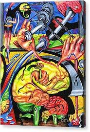 The Mechanics Of Consciousness Acrylic Print