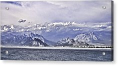 The Mediterranean Coast Acrylic Print