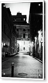The Meeting Place Acrylic Print by John Rizzuto