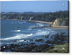 The Mendocino Coast Acrylic Print by Stan and Anne Foster