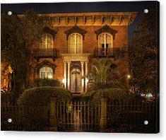 The Mercer House Acrylic Print