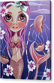 The Mermaid's Garden Acrylic Print