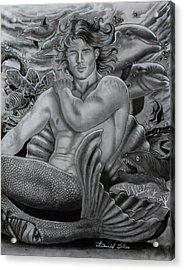 The Merman Acrylic Print