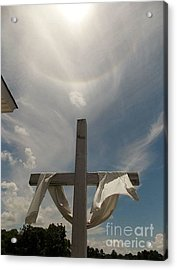 The Message Of The Cross Acrylic Print