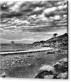 The Mewstone, Wembury Bay, Devon #view Acrylic Print