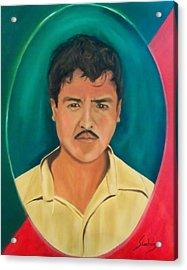 The Mexican Acrylic Print by Manuel Sanchez