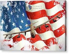 The Mighty B-52 Acrylic Print